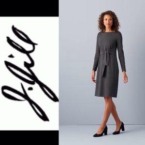J. Jill Wearever Collection Tie Front Dress
